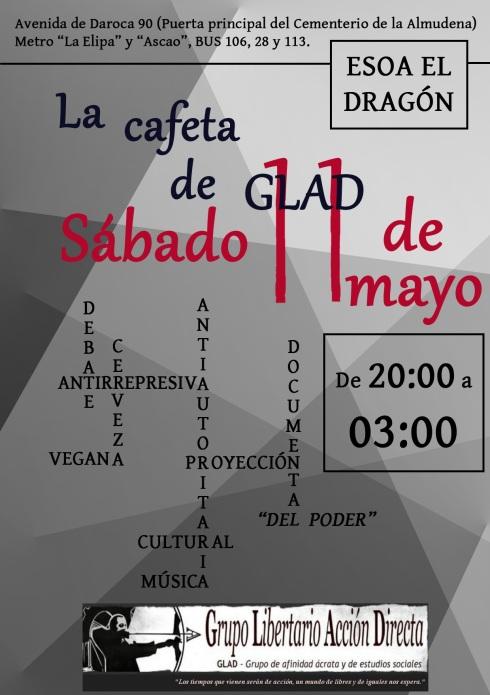 Cartel Cafeta 11 mayo